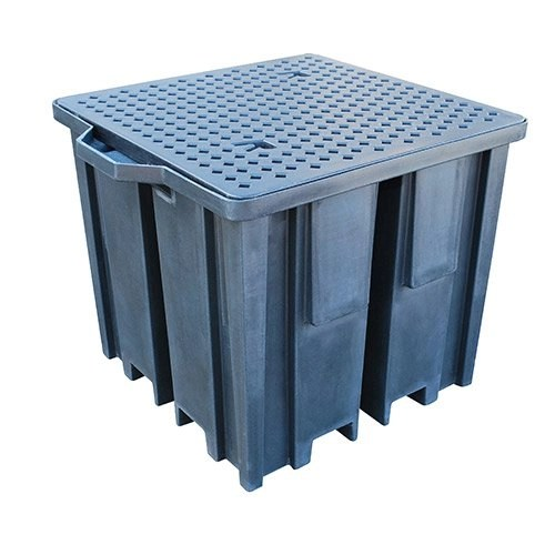 Recycled IBC Spill Pallet with 4 way Access