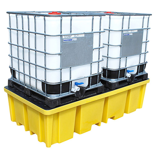 Sump Pallet for 2 IBCs