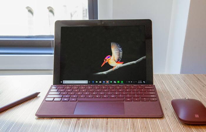 Produkttest: Surface Go