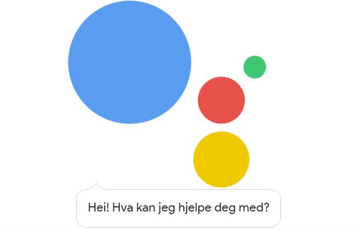 Nå kommer Google's stemmeassistent på norsk