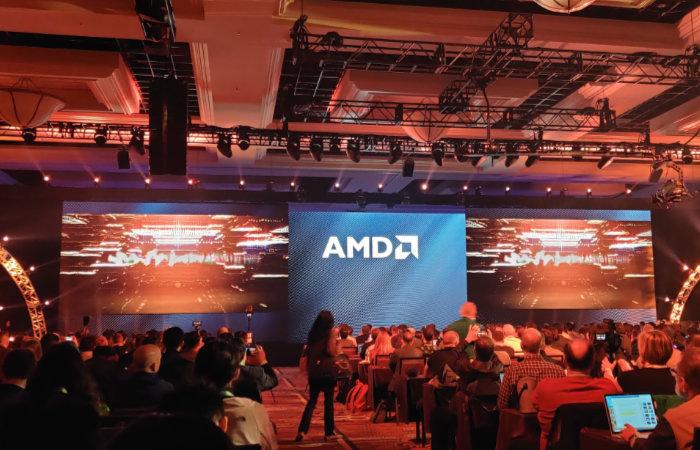 AMD med 64-kjerners prosessor i 7 nm-teknologi
