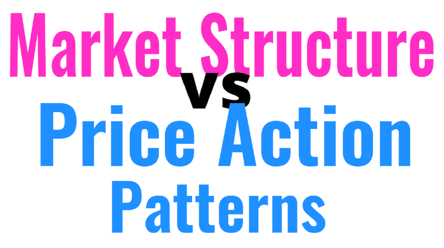 market structure vs price action patterns