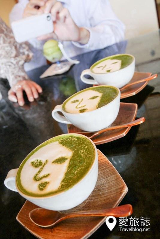 《京都下午茶推薦》よーじや Yojiya:哲學之道的舞伎抹茶咖啡店