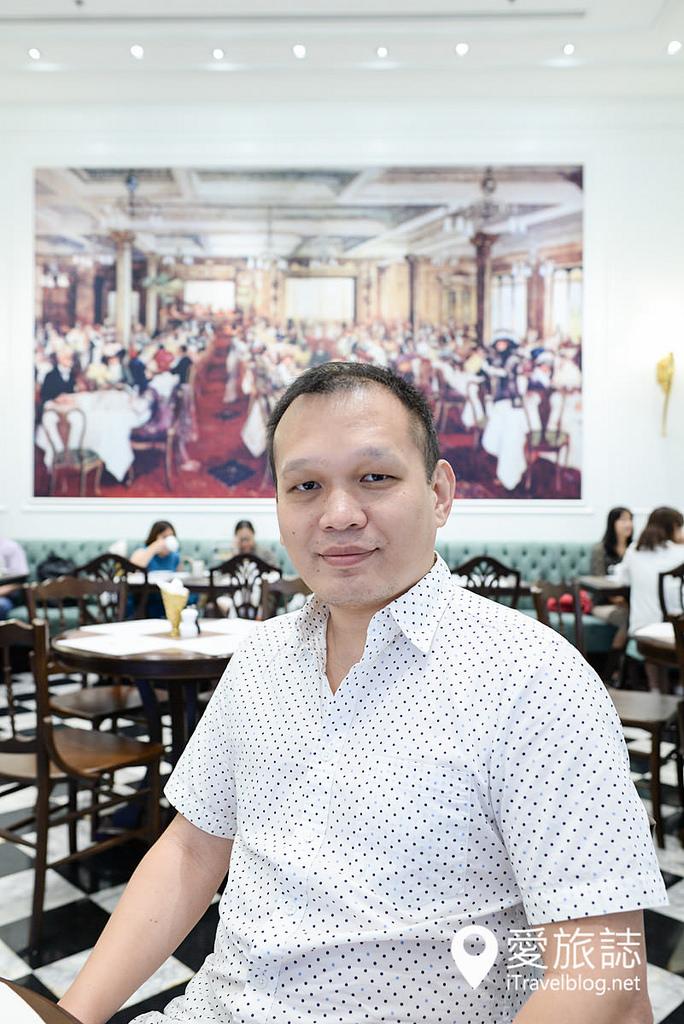 《曼谷餐廳推薦》Harrods Cafe 哈洛德下午茶餐廳,英國泰迪熊現身EmQuartier