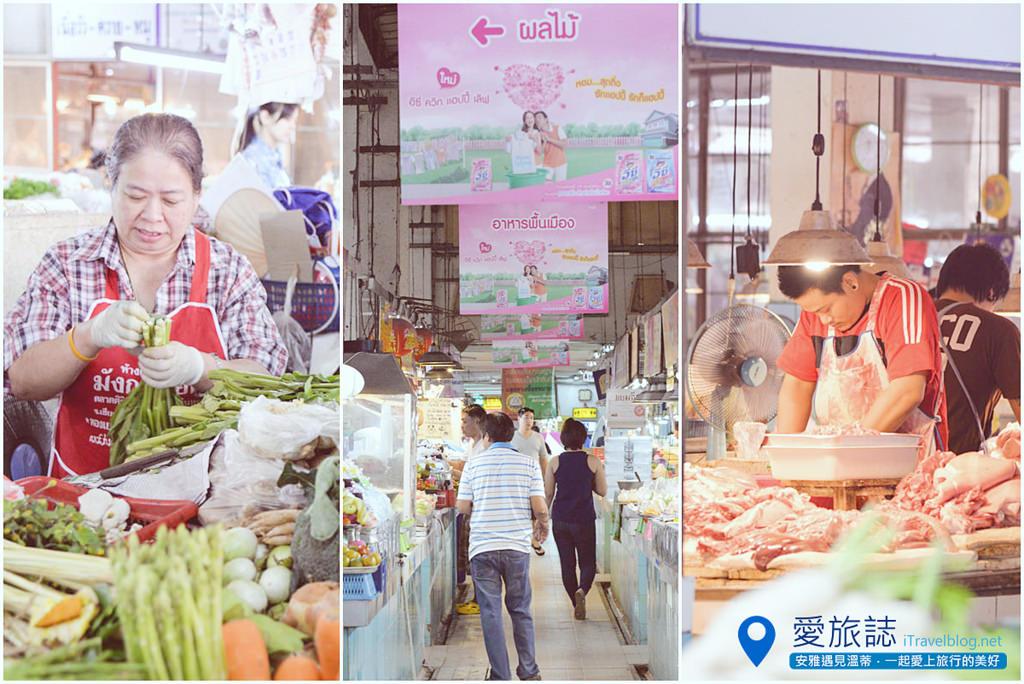 《清邁市集即景》Siriwattana Market 塔尼市場:清邁古城北門外的在地傳統市場,好吃好逛又便宜