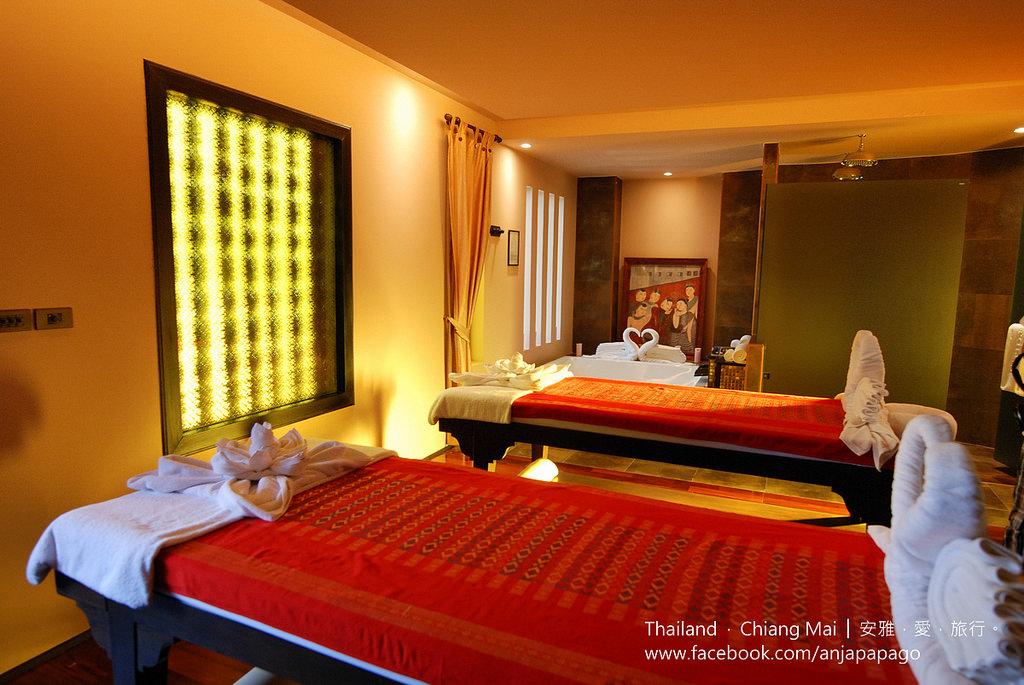《清邁SPA按摩推薦》Siripanna Villa Resort & Spa Chiang Mai 酒店內的 Panna Spa