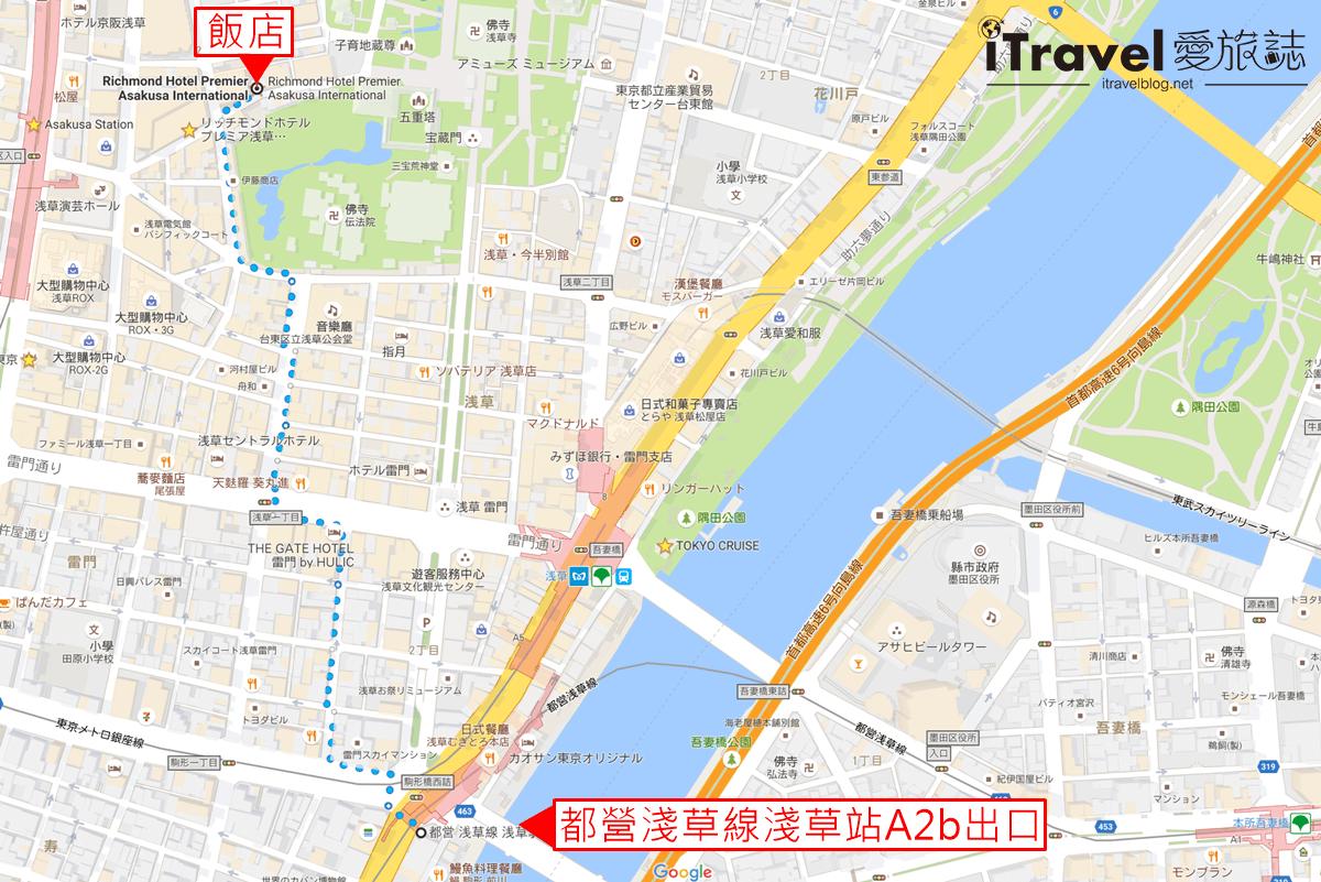 飯店路線圖
