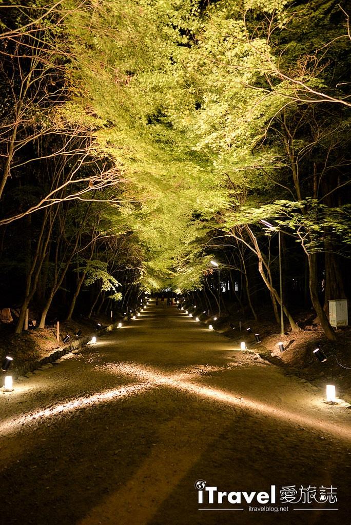 《京都賞楓景點》醍醐寺夜楓拜觀限定開放,湖面景致不輸永觀堂推薦給攝影愛好者。