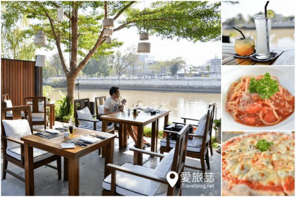 《清邁美食餐廳》薩拉蘭納義式餐廳:湄濱河畔的悠閒午茶時光