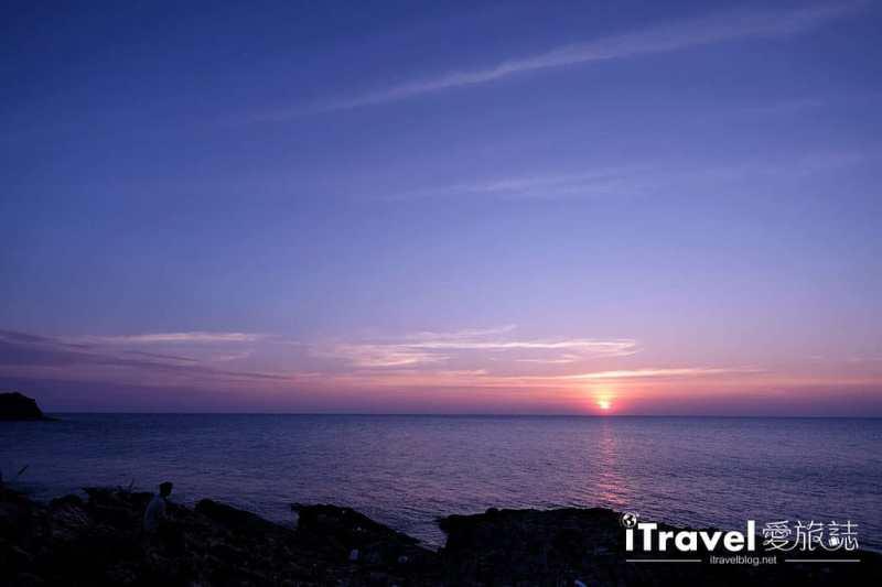 《沙美島景點推薦》西岸夕陽景點巡禮:租賃摩托車南北貫穿奔馳,連續造訪三個日落景點
