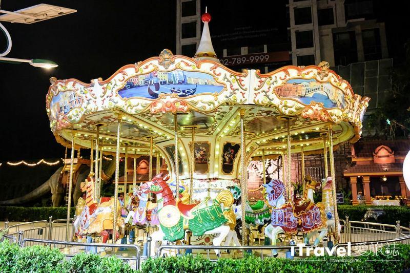 《曼谷夜市集景》新桑倫夜市:濃縮版泰國觀光體驗一條龍