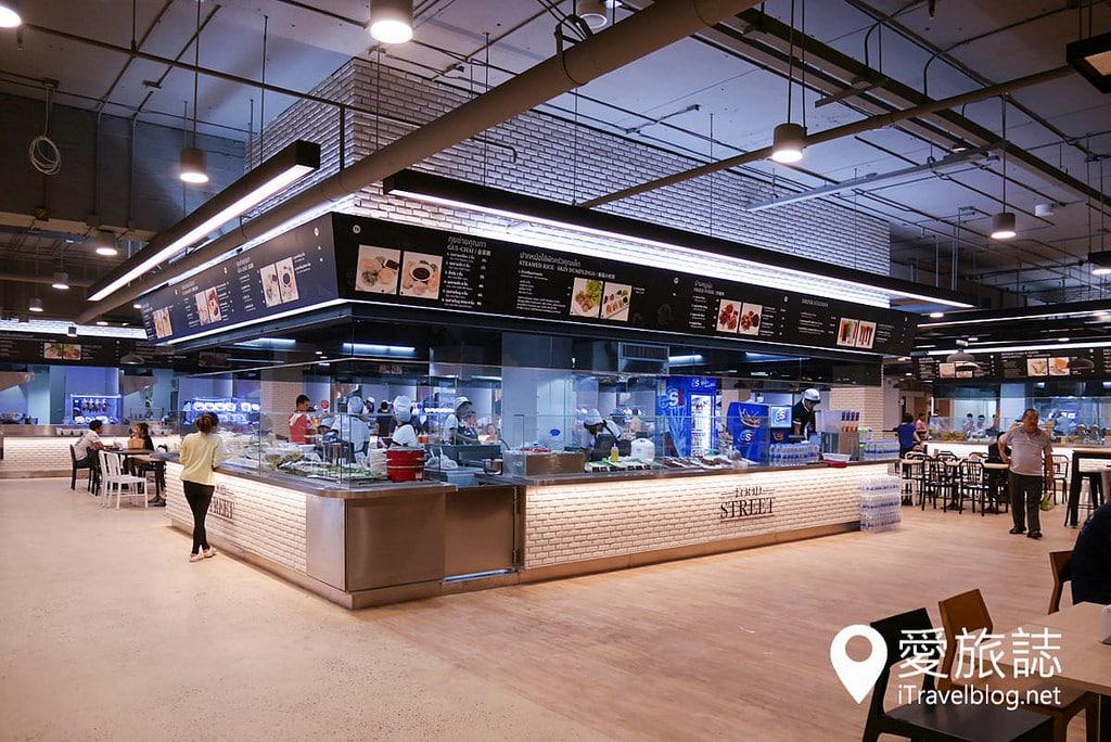 《曼谷購物血拼》The Street Ratchada:2015年全新開業的拉差達特色購物中心,鄰近MRT地鐵捷運站。