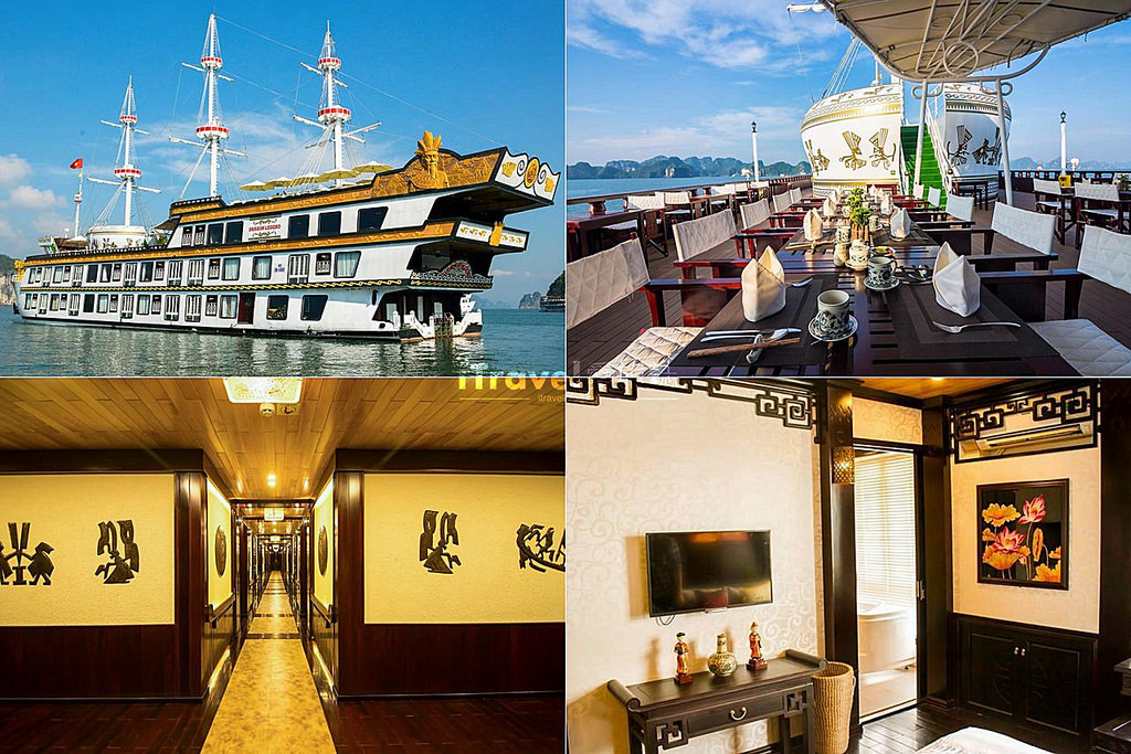 《下龍灣飯店推薦》Top 10 五星級海上船屋酒店精選