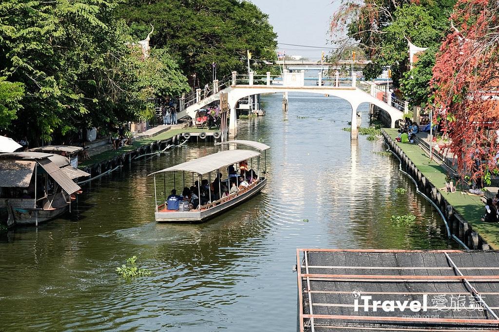 《曼谷景點推薦》關里安水上市場:體驗傳統泰式文化風情