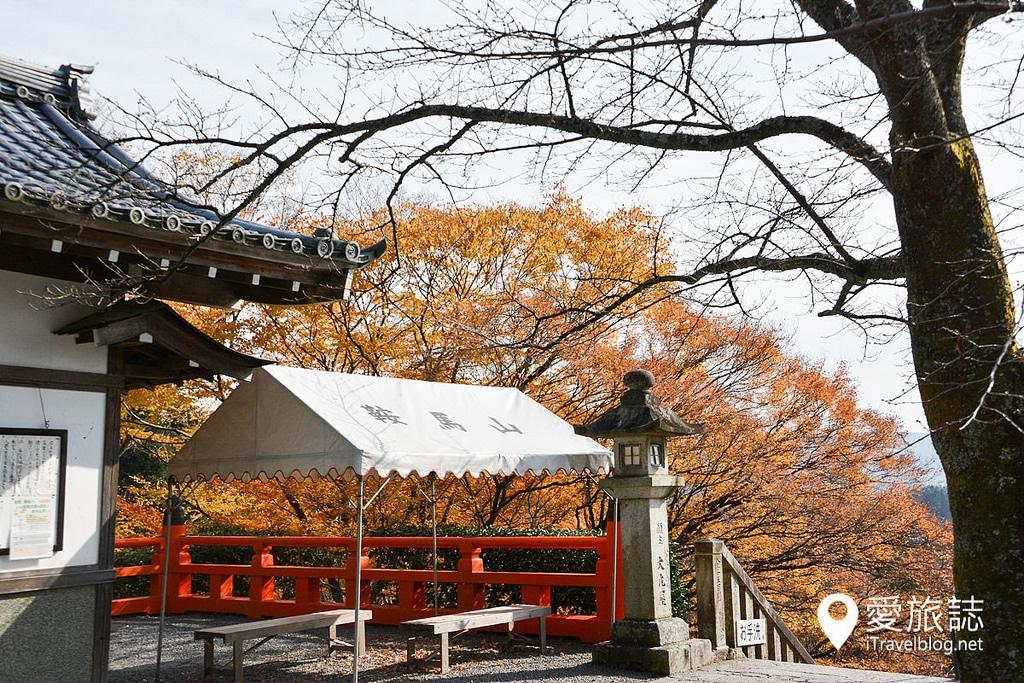 《京都賞楓景點》鞍馬寺:搭乘叡山電車造訪鞍馬山