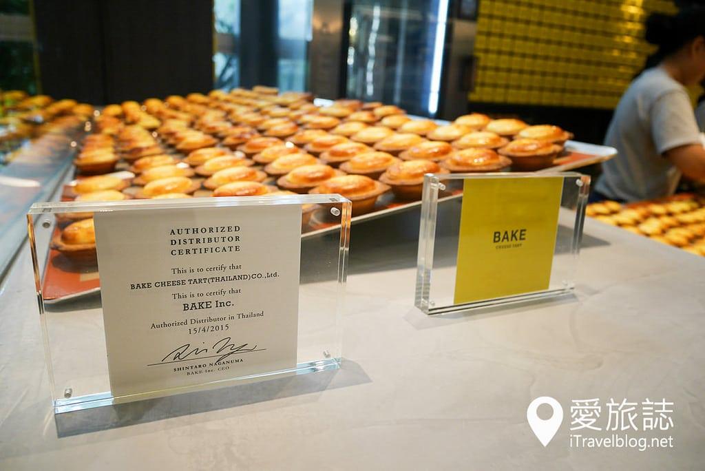 《曼谷美食推薦》BAKE Cheese Tart:來自北海道的起司蛋塔