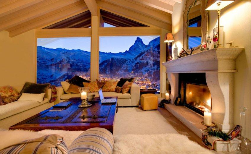 Heinz Julen Penthouse: Ένα γυάλινο σαλέ στην Ελβετία - iTravelling