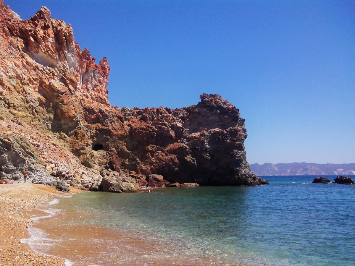 4  πανέμορφες παραλίες με θειάφι στην Ελλάδα