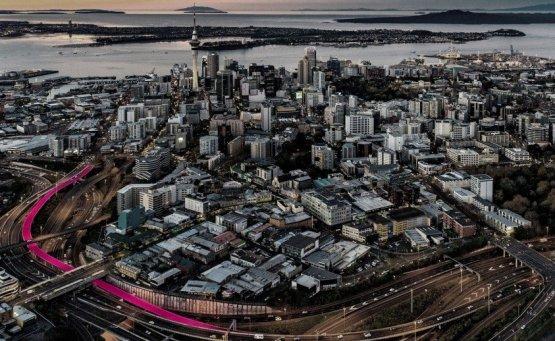 Ένας ροζ ποδηλατόδρομος σε περιμένει στη Νέα Ζηλανδία - iTravelling