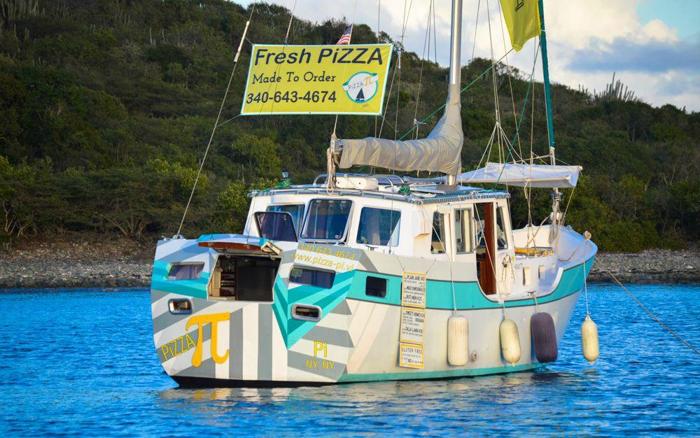 Η πρώτη πλεούμενη πιτσαρία στις Παρθένες Νήσους - iTravelling