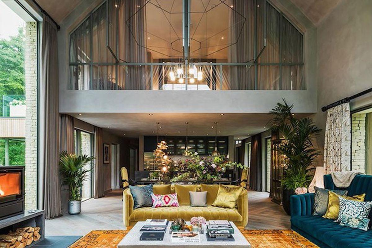 Η ρετρό κατοικία της Kate Moss στην αγγλική ύπαιθρο