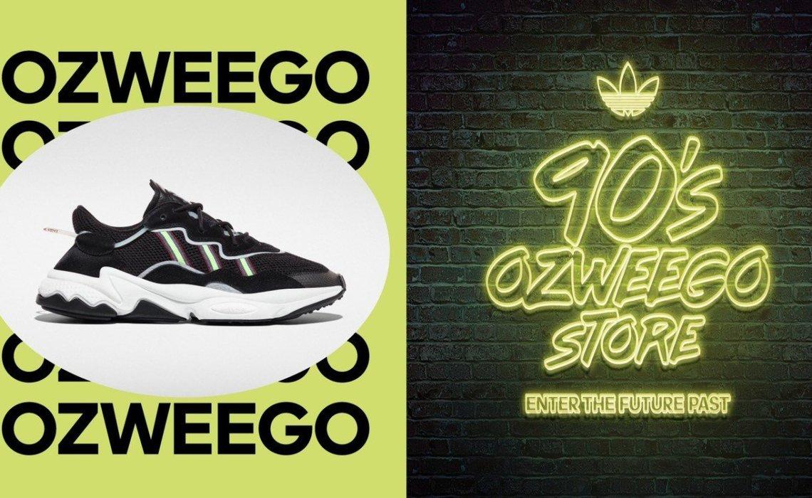 Το OZWEEGO σε ταξιδεύει στη δεκαετία του '90 στο adidas Originals store Athens - itravelling.gr