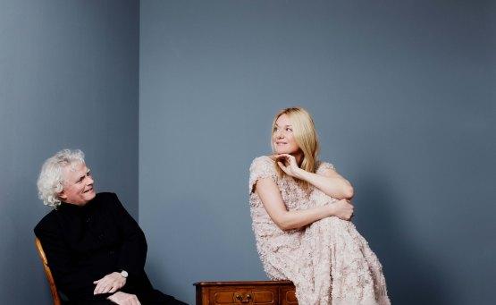 Η Magdalena Kožená και ο Sir Simon Rattle στο ΚΠΙΣΝ - itravelling.gr