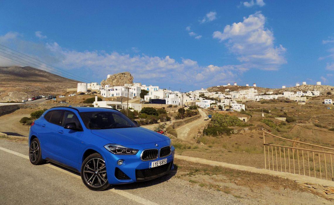 On the Road || Ατενίζοντας το «Απέραντο Γαλάζιο» παρέα με τη νέα BMW X2
