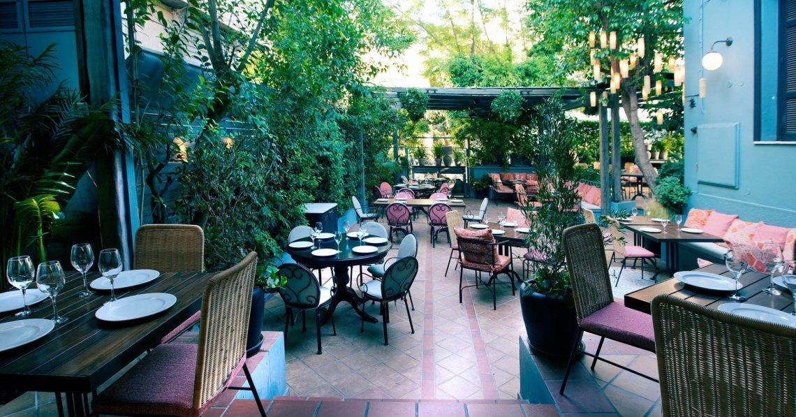 The Albion: Μεσογειακές γεύσεις στο δροσερό κήπο της Αθήνας - itravelling.gr