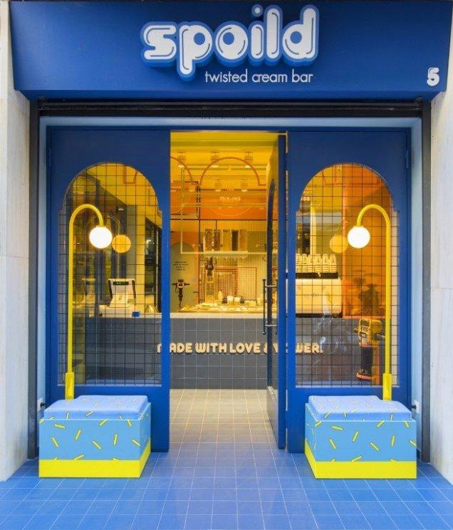 Spoild: Ραντεβού στο πρωτοποριακό ice-cream bar της πόλης - itravelling.gr