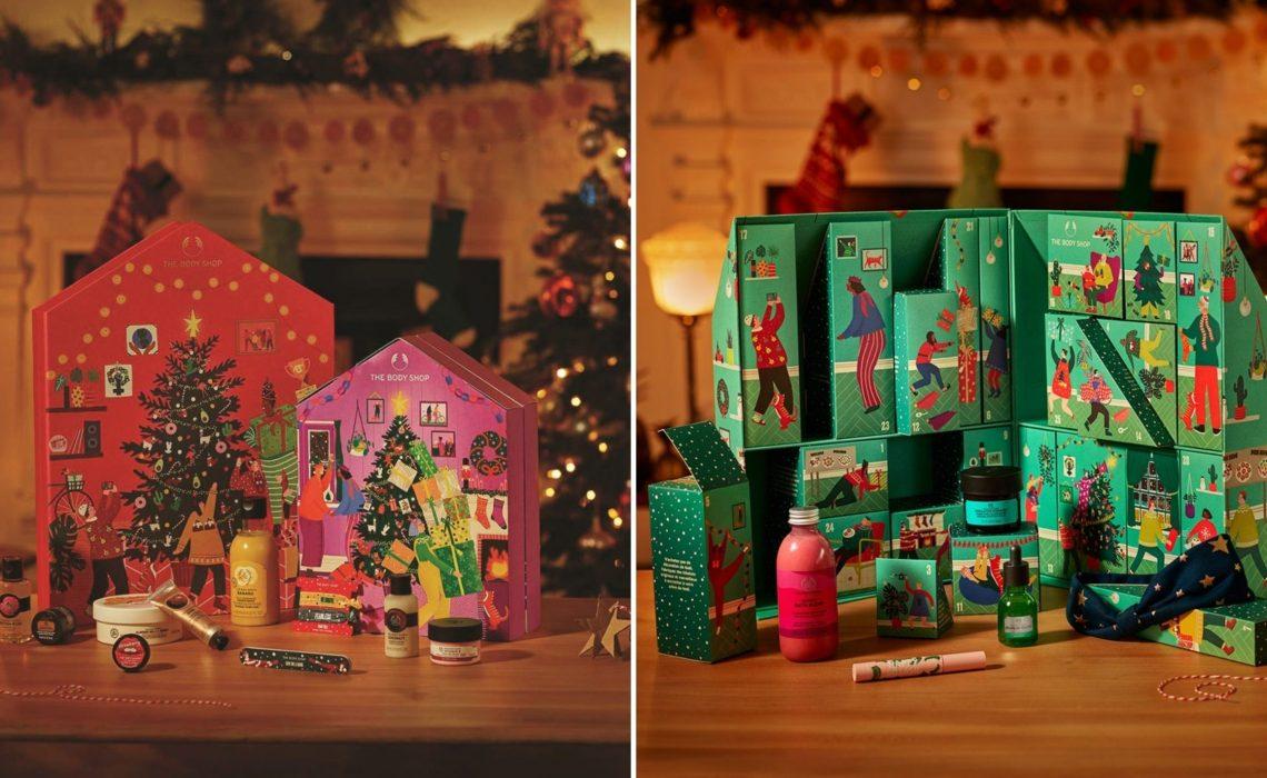 iT X-mas Gift Calendar #04: Beauty ημερολόγια για καλά Χριστούγεννα από τη The Body Shop - itravelling.gr