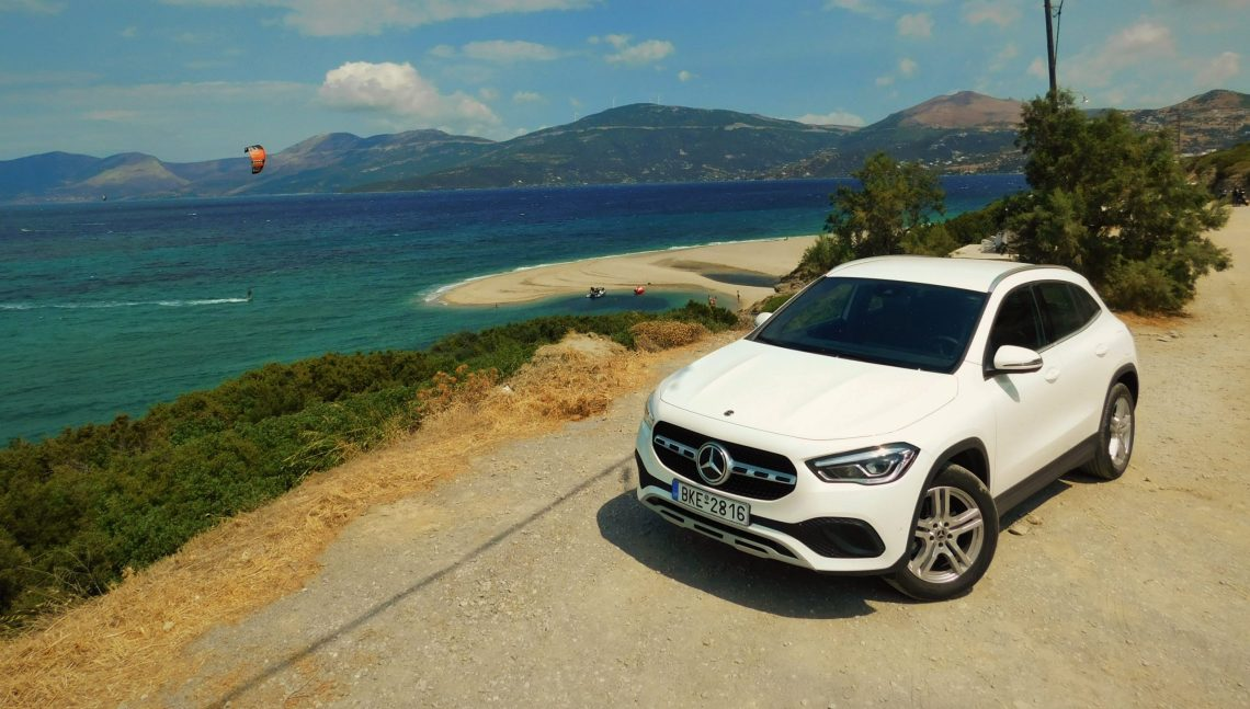 On the Road || Η νέα Mercedes-Benz GLA 200 μας ξεναγεί στο Μαρμάρι!