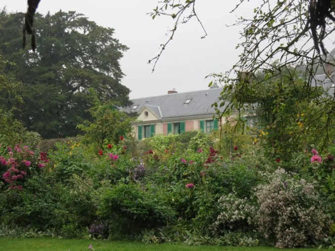 Photo of Monet's garden at Giverny