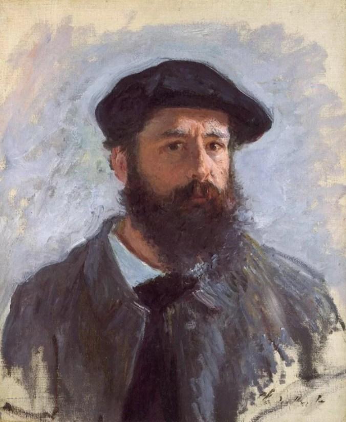Claude Monet portrait of himself