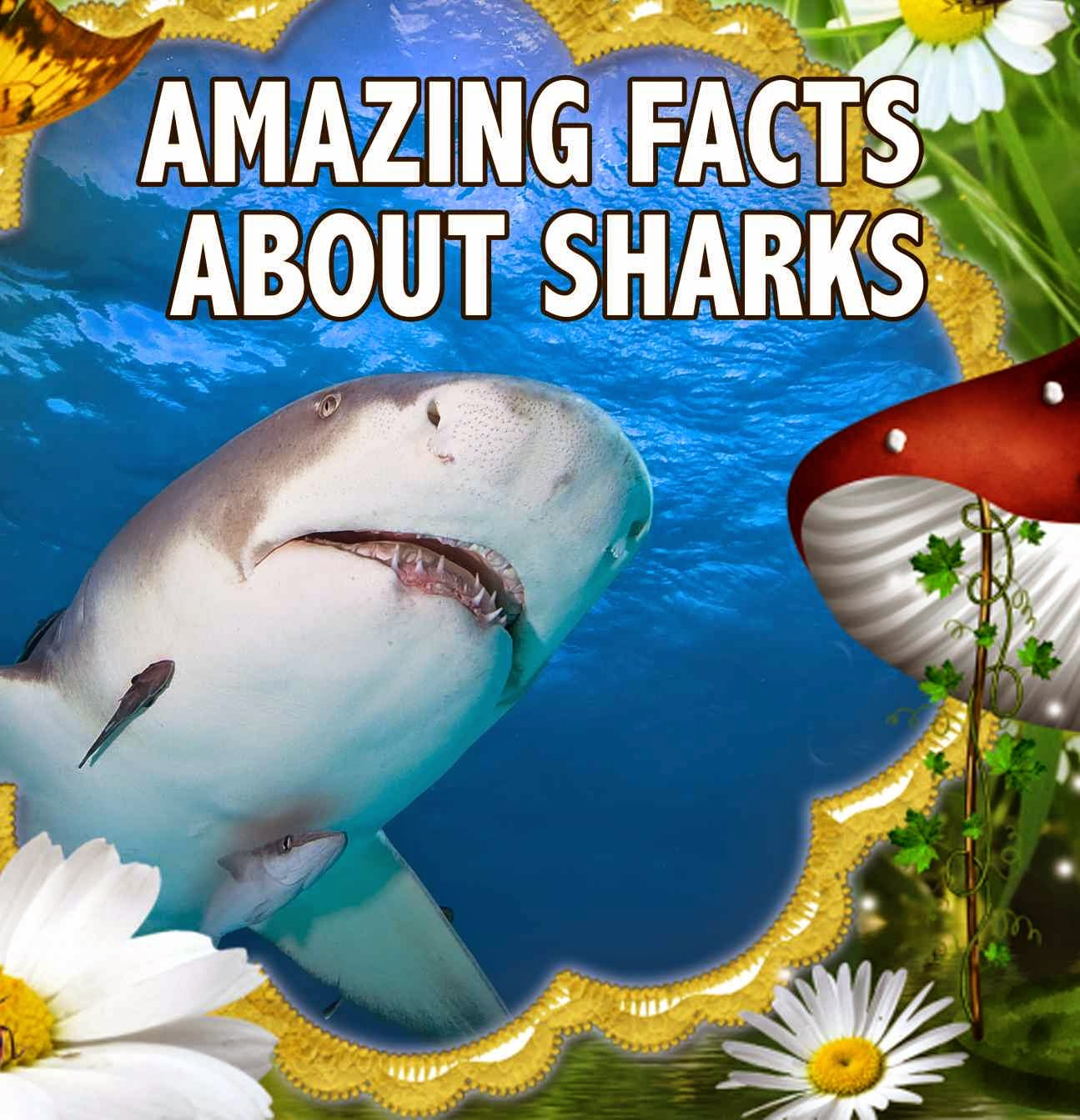 Childrens Book Amazing Facts About Sharks Great