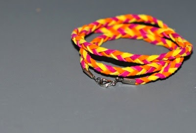 I Try DIY | CandyMagDotCom: DIY Braided Leather Bracelet