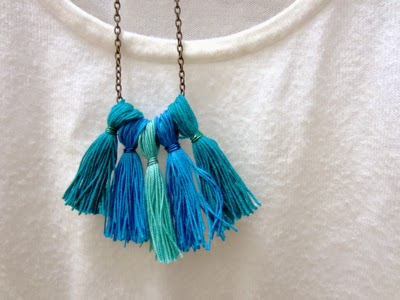 I Try DIY | CandyMag.Com: Tassel Necklace