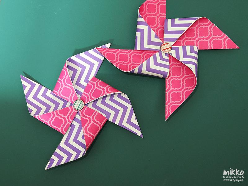 I Try DIY | DIY Tutorial: Pretty Party Pinwheels