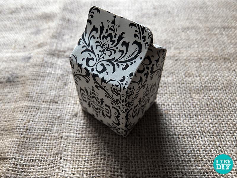 I Try DIY | It's A Wrap: DIY Mini Milk Cartons