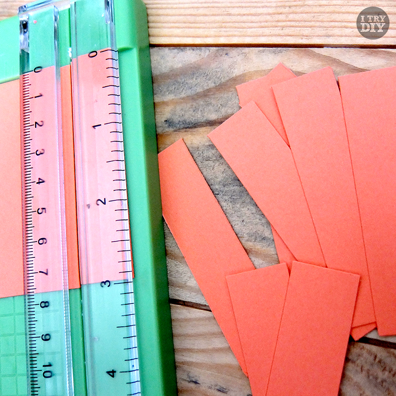 I Try DIY | DIY Tutorial: Simplest Paper Garland