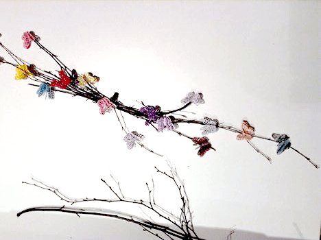 I Try DIY | Guest Post: Paper and Twigs Butterfly Wreath