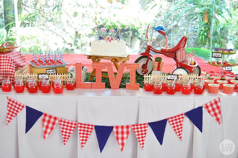 I Try DIY | Livi's 2nd Birthday Picnic Party