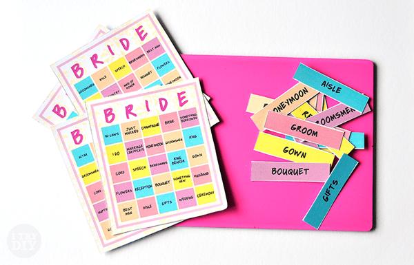 I Try DIY | Bridal Bingo Downloadable Cards