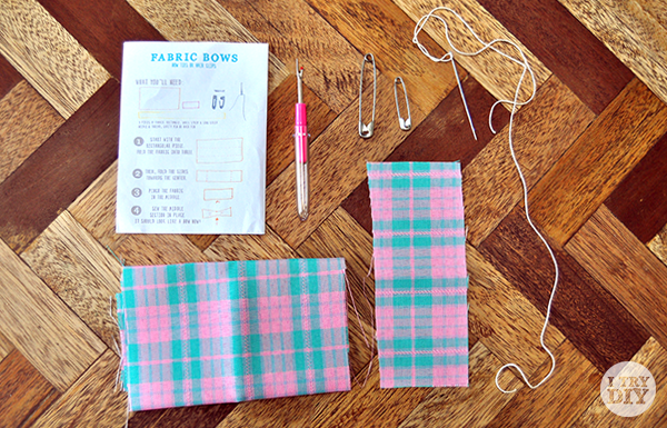 I Try DIY | Easy Peasy Fabric Bowties