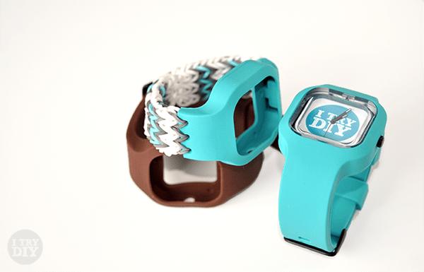 I Try DIY | Stitched Swap Watch Straps