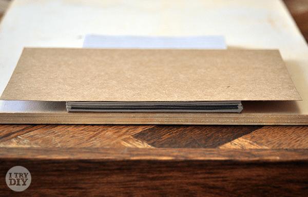 I Try DIY   DIY Notepads