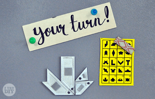 I Try DIY | Refrigerator Games: Brain Puzzle Game