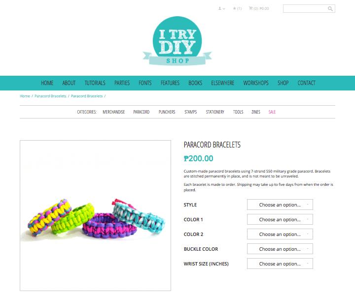 I Try DIY | I Try DIY Shop