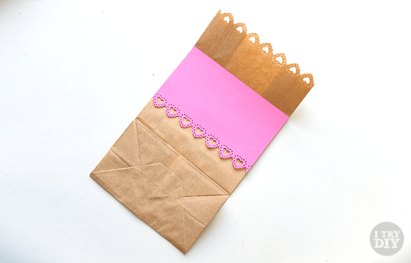 I Try DIY | It's A Wrap: Dressed Up Brown Paper Bags
