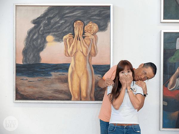 I Try DIY | Snapshots from Pinto Art Musuem
